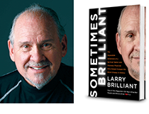 Dr. Larry Brilliant and book cover