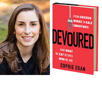 Sophie Egan and Devoured cover