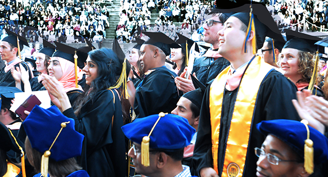 Class of 2016 at SPH Commencement