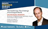 Michael Marmot lecture
