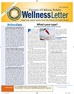 Image of front page of Wellness Letter