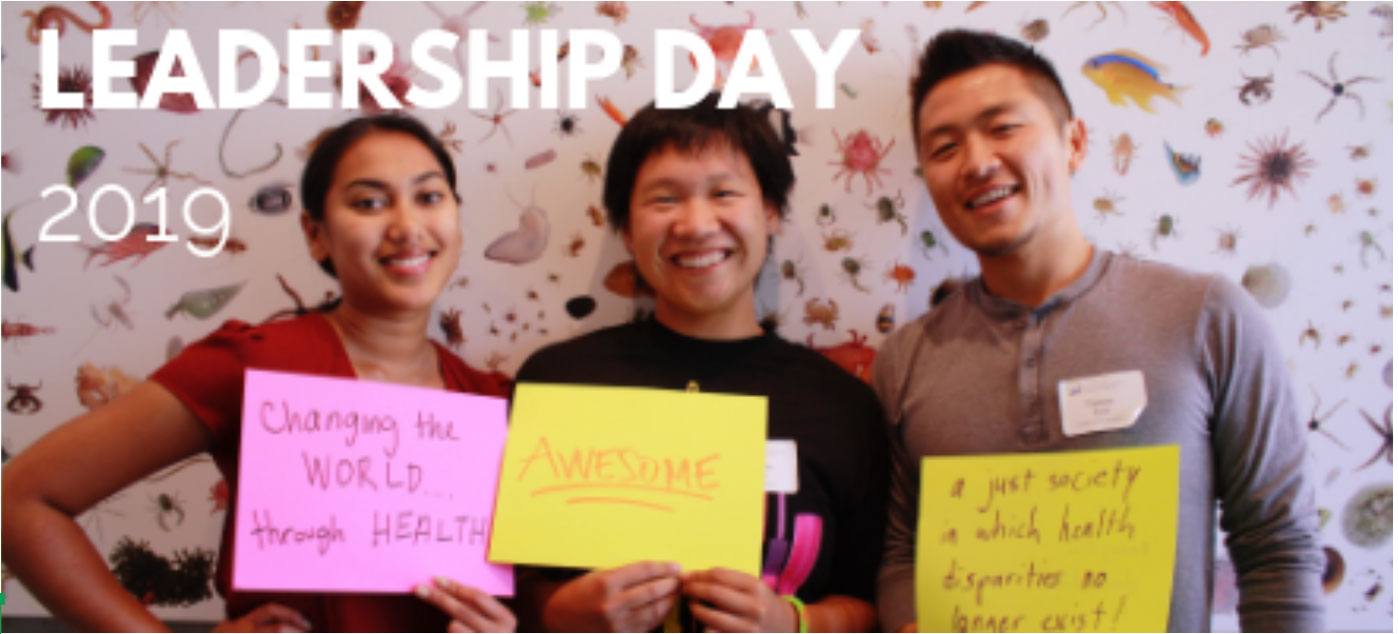 Graphic for leadership day
