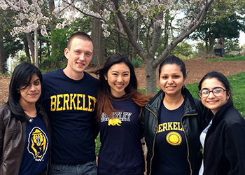 UC Berkeley team for Emory Case Competition