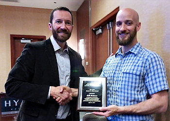 Holmes wins James M. Blaut Award
