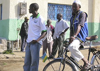Men in Rwanda