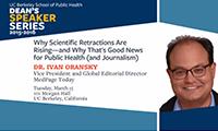 Dr. Ivan Oransky
