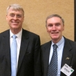 Harrison Spencer, M.D., M.P.H. '72, president and CEO of the Association of Schools of Public Health, and Dean Stephen Shortell