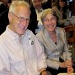 Steve Selvin, professor and head of biostatistics, and his wife, Nancy