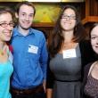 Left to right: Student scholarship recipients Alison Cohen, Alexander Luedtke, Laura Balzer, and Jennifer Hunter
