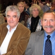 Professor Emeritus Edward Penhoet, the School's former dean; and Jeff Braff, director of human subjects protections at Kaiser Permanente, who spoke at the memorial