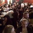 Alumni and students gathered at Luka's in Oakland
