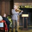 Kit Eakle gives a performance of Violin Sonata in G Minor #1, first movement, by Johann Sebastian Bach, in honor of Warren Winkelstein Jr.