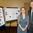 Representing the Berkeley Center for Green Chemistry: Associate directors Meg Schwarzman M.P.H. '07 and Michael P. Wilson Ph.D. '03, M.P.H. '98