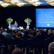 Awards presentation in the ballroom