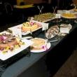 Dessert buffet following the awards program