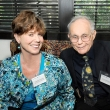 Carolyn Parrish and Marshall Blann, donors of the Blann Graduate Fellowship