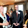 Instructor Sonya Dublin, Chris Van Nostrand, and graduating student Korie Hickel.