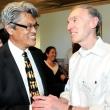 Program director Nap Hosang and Dean Emeritus Stephen Shortell