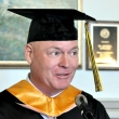 Graduating student Paul Nugent
