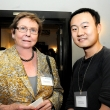 Shand Green, donor of the C.C. Chen Scholarship and Jiawen Liao, recipient of the C.C. Chen Scholarship