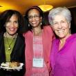 Professor Denise Herd; Public Health Alumni Association president Lucinda Bazile; Ellie Schindelman
