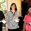 SPH staff members Rick Love, Veenu Nagarvala, and Abbie Smith