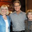 Assistant Dean Pat Hosel, Michael Wilson, Associate Dean Gertrude Buehring