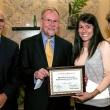 Lesley Castillo, new KP Public Health Scholar, with Jeff Oxendine, Ray Baxter and Debbie Alvarez-Rodriguez