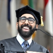 Neil Sehgal PhD '15 (Health Services & Policy Analysis) delivers a graduate student oration at the 2015 UC Berkeley School of Public Health Commencement.