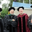 Left to right: Professors Lee Riley, Art Reingold, Steve Shortell, and Ray Catalano.