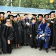 UC Berkeley School of Public Health faculty members at the 2015 Commencement.