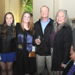 Graduating student Riley Reed (third from left) with guests.