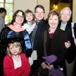 Graduating student Amanda Naprawa (left) with guests.