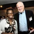 Sandra Mukasa and Lawrence Green