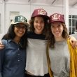 Team Josephine proudly sport their new Eat.Think.Design swag. Pictured left to right: Simone Saldanha, Mor Goldberger, and Emily Altman.