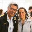 Professor Nap Hosang (left) with Dr. Jessica Granderson of Lawrence Berkeley National Laboratory.