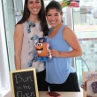 Design Spud shares a happy moment with Gina Drioane and Briana Levin of Team Bun in the Oven.