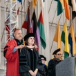 hooding a doctoral student
