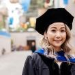 a graduating public health student