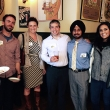 Alumni and students gathered at The Trappist in Oakland