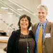 Jane Garcia with Interim Dean Will Dow