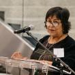 Jane Garcia gives remarks