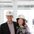 Kathy Kwan and her husband Alan Eustace