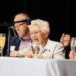 Dean Emerita Joyce Lashof answersing a question