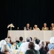 Audience listening to panelists speak