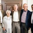 Ed Penhoet, Joyce Lashof, Stephen Shortell, Stefano Bertozzi and Nap Hosang