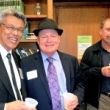 On-Campus/Online Professional M.P.H. Degree Program director Nap Hosang; student Paul Nugent; faculty member Michael Bates