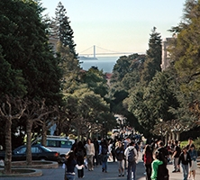View of bay from Campanile